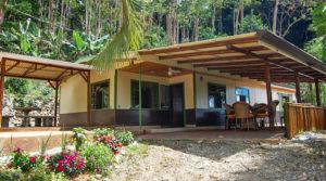 Simple Mountain Home with Beautiful Garden in San Isidro