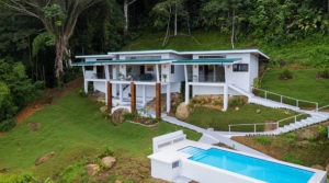 New Ocean View Home Bordering Nature Reserve Near Dominical